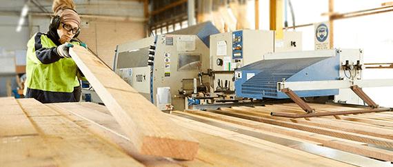 Производство сухого пиломатериала на экспорт