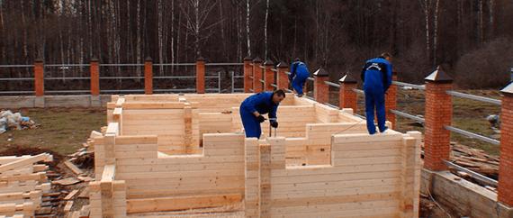 Сухой брус для строительства домов из бруса