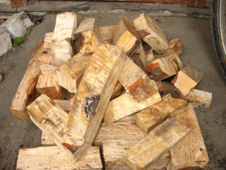 Вакуумная пропитка дров отработанным маслом