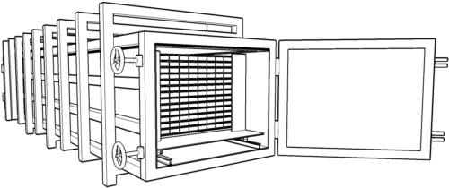 Оборудование для сушки древесины схема