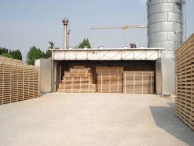 Камерная сушка древесины на производстве
