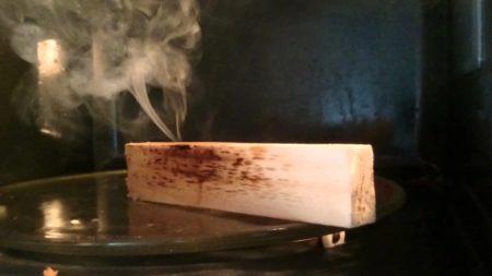 Быстрая сушка древесины свч методом