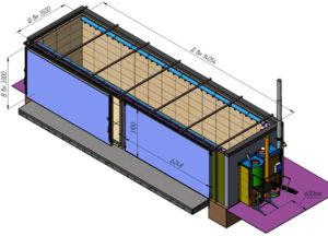 Конструкция сушильной камеры