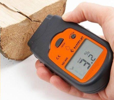Влагомер - прибор для измерения влажности в древесине
