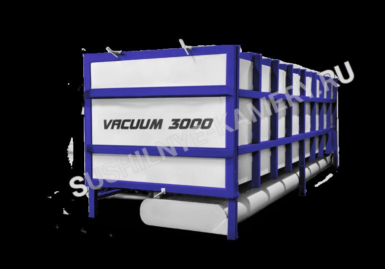 Пресс вакуумная сушильная камера для древесины объемом загрузки 3 куба ( ПВСК 3)